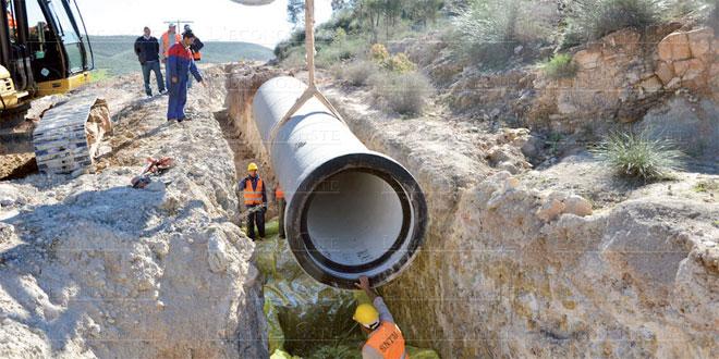 Perturbation dans l'approvisionnement en eau potable à Khouribga, Oued Zem et Bejaâd