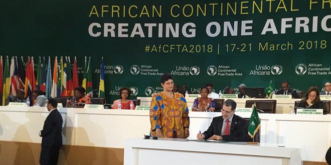 Création de la Zone de libre-échange continentale africaine