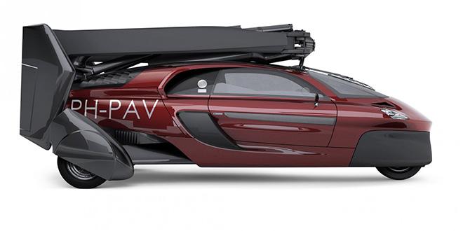 VIDEO-Une voiture volante dévoilée à Genève