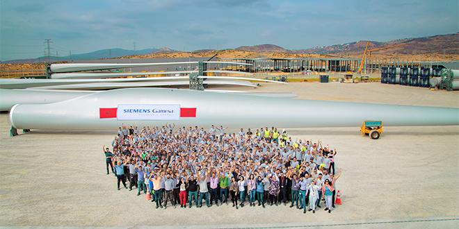 Tanger: Siemens Gamesa produit sa 100e pale