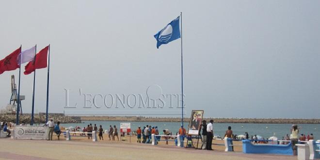 Laâyoune: la plage de Foum El Oued hisse pour la 14e fois le Pavillon bleu