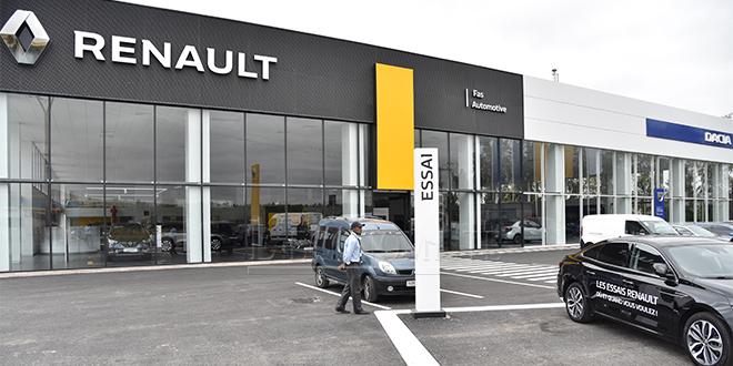 Automobile: Renault toujours leader d'un marché en forte baisse