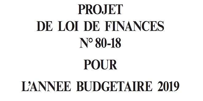 EXCLUSIF-Retrouvez l'intégralité du corps du projet de la loi de finances
