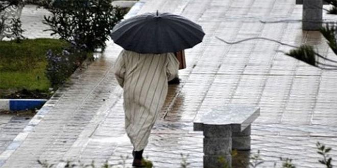 De fortes pluies attendues mercredi
