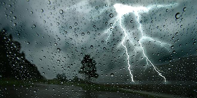Fortes pluies orageuses en perspective