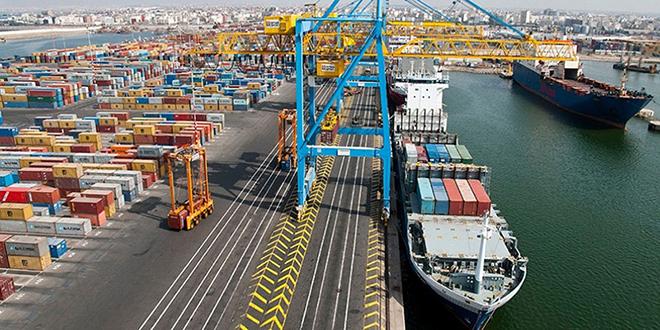 20 navires en rade au port de Casablanca