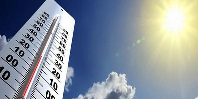 Temps chaud: Jusqu'à 48° C