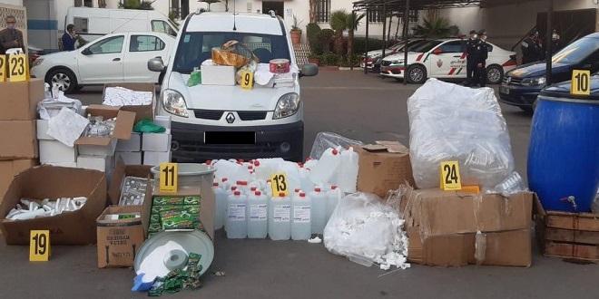 Faux produits d'hygiène: La police sévit