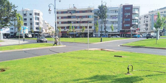 Rabat trouve une solution pour l'arrosage de ses espaces verts