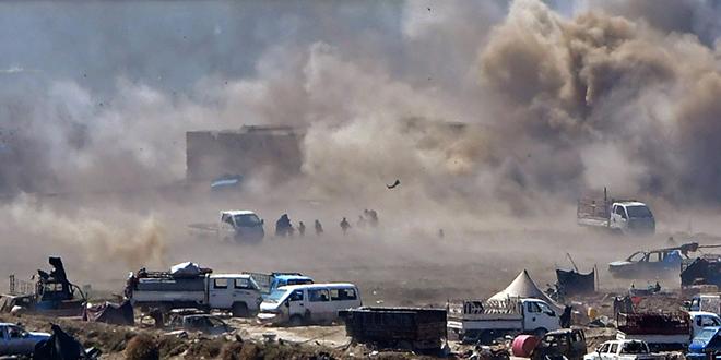 Israël mène des raids aériens au centre de la Syrie