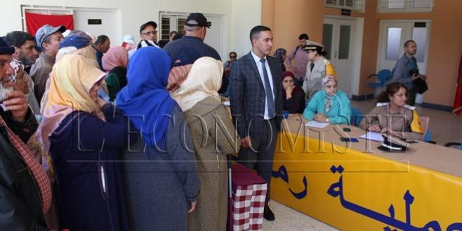 Tanger : L'opération de soutien alimentaire lancée
