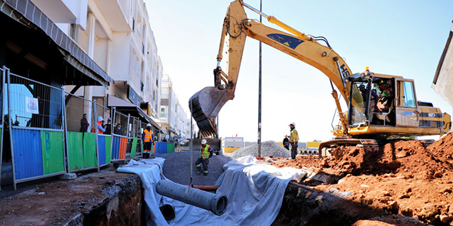Assainissement liquide: exécution de 80% de la 1ère tranche à Harhoura