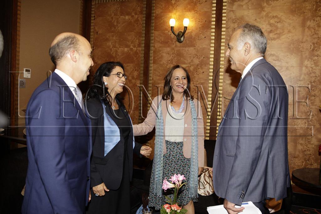 Nawal El Moutawakel et Salaheddine Mezouar