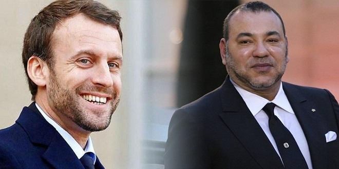 Fête du Trône : Le message de Macron à Mohammed VI