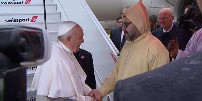 Visite du Pape François: Texte intégral du Discours Royal