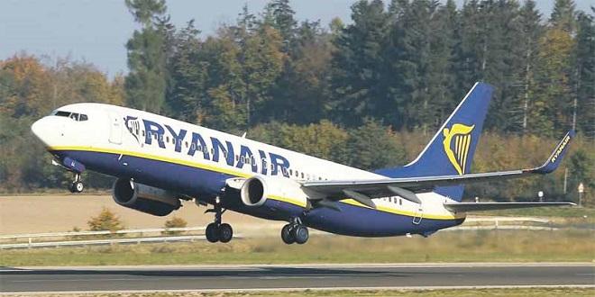Ryanair : Le bénéfice trimestriel dégringole