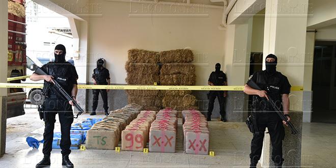Tanger : 680 kg de drogue saisies