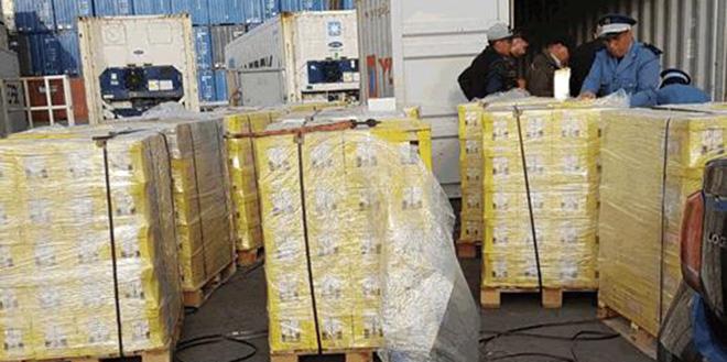 Insolite : 240 kg de drogue dissimulés dans des briques de jus