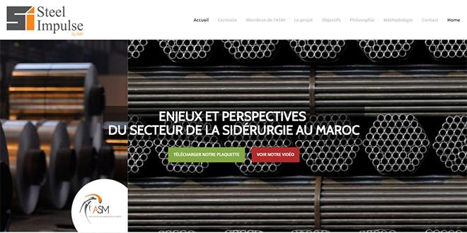 STEEL IMPULSE: Nouvelle plateforme pour les sidérurgistes marocains