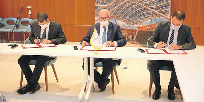 Programmes Data-Tika: Signature d'une convention de partenariat entre la CNDP, l'OCP et l'UM6P