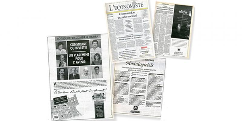 Il y a 30 ans sur L'Economiste