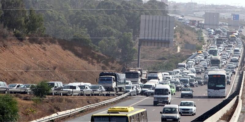 Autoroute Rabat-Casa: Circulation suspendue entre les échangeurs de Témara et d'Ain Atiq