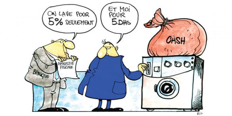 Amnistie fiscale: La machine de blanchiment en marche
