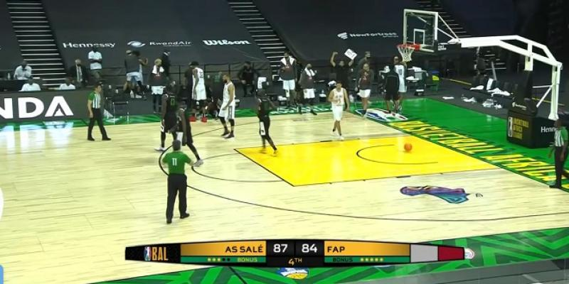 Basketball Africa League: L'AS Salé démarre par une victoire