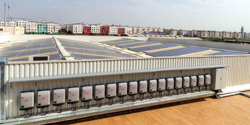 Auto Hall s'offre une centrale solaire