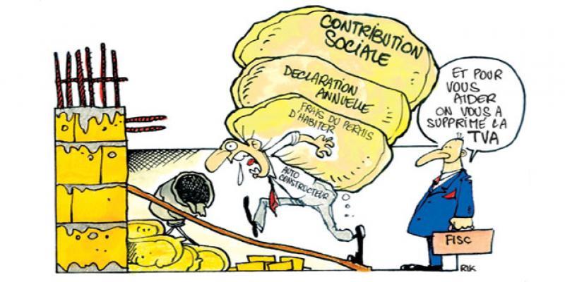 Auto-construction: Deux régimes fiscaux en cohabitation
