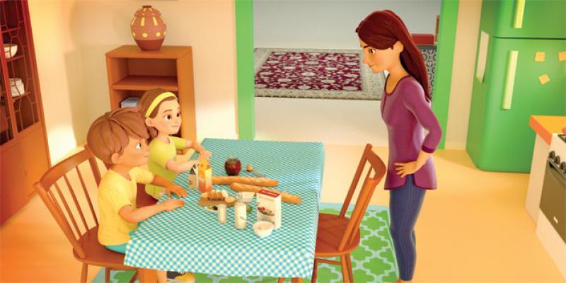 Les aventures de Lina et Adam pour sensibiliser les plus jeunes