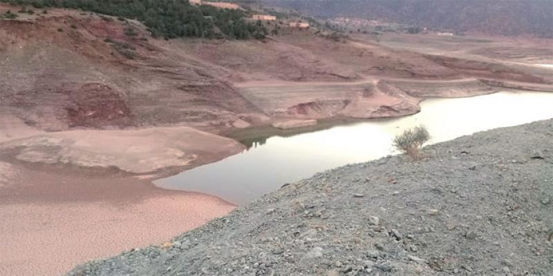 Peu de pluie et de neige, le Haouz menacé d'une pénurie d'eau