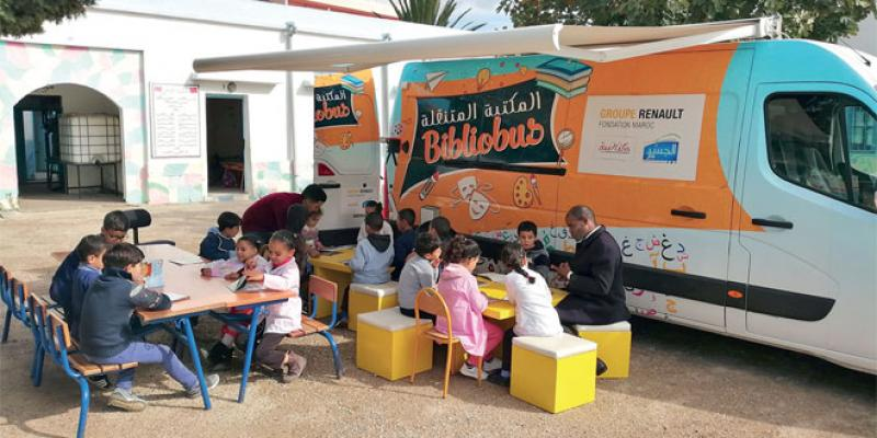 Des «Bibliobus» visitent une cinquantaine d'écoles