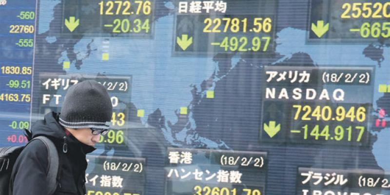 Zone de turbulences sur les marchés financiers