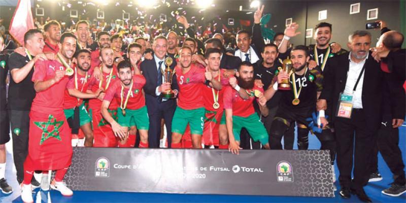CAN Futsal: Le Maroc sacré à Laâyoune