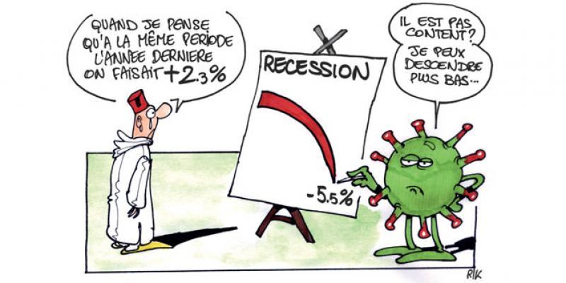 La récession moins sévère que prévu