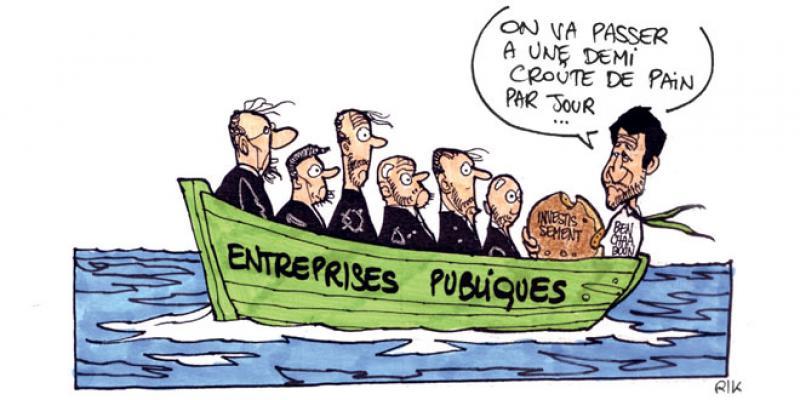 Investissement: Les entreprises publiques au régime