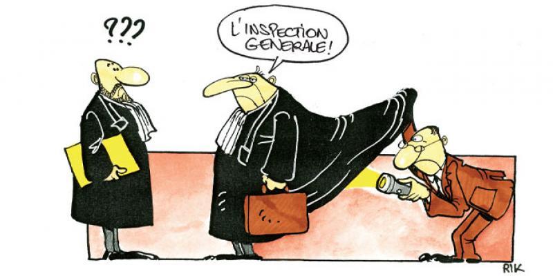 Que Dit la Loi? - L'inspection judiciaire enfin sur les rails