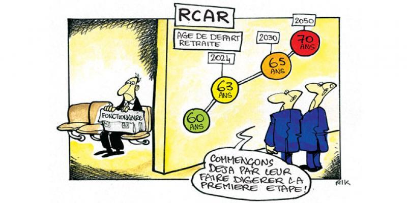 Retraite: L'âge de départ porté à 63 ans au RCAR
