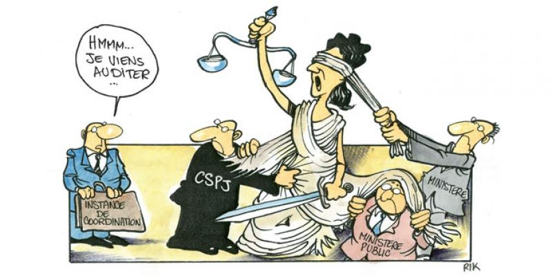 Administration judiciaire: Le mécanisme de coordination change de régime