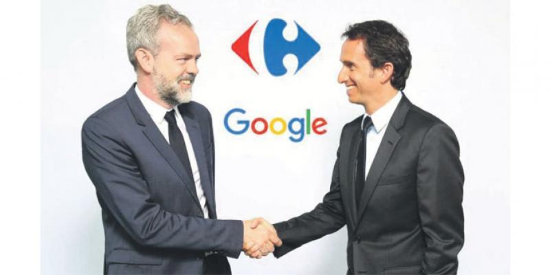 Alliance entre Carrefour et Google sur le digital