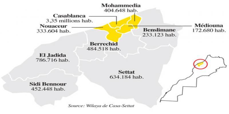 Casa-Settat: La région lance son schéma d'aménagement