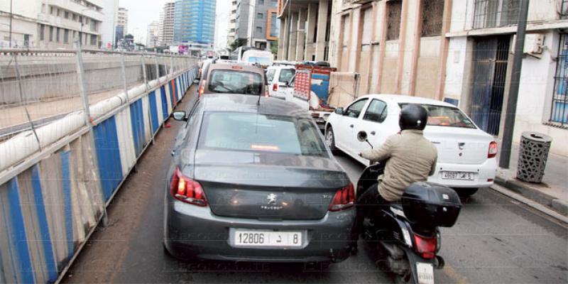 Casablanca: Dernières touches pour la plus longue trémie
