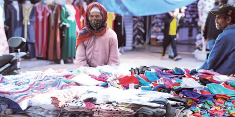 Casablanca: Le commerce suspendu à la reprise