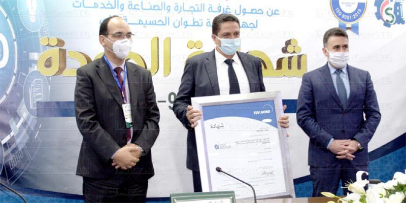 Tanger: La Chambre de commerce décroche l'Iso