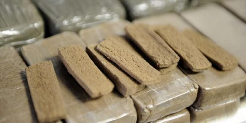 Errachidia: Plus d'une tonne de drogue saisie