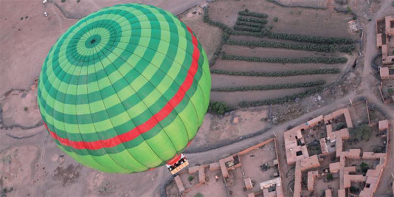 PME Régions : Ciel d'Afrique fait voir Marrakech d'en haut