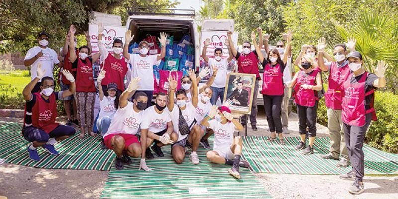 Associatif: Cœur & ACT Maroc porte secours aux sinistrés de Taroudant