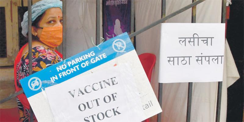 Pénurie de vaccins en Inde!