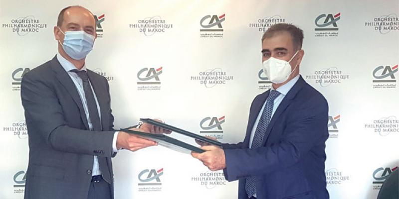 Le Crédit du Maroc octroie un don de 500.000 DH à l'OPM